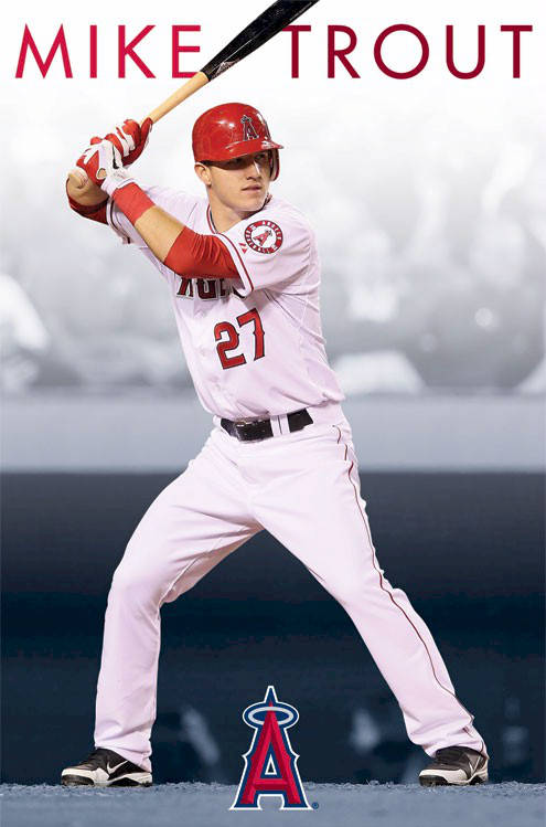 Angels baseball mike trout